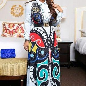Long Maxi dress.